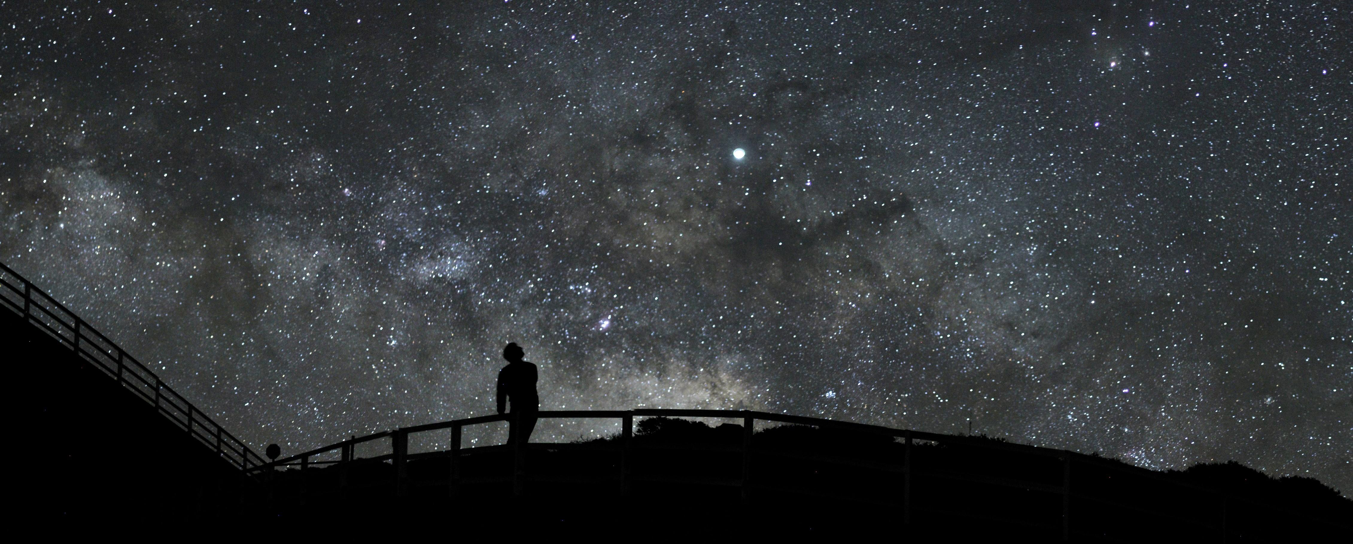 Oscar and Milky Way
